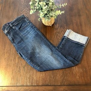 AG Adriano Goldschmied Jeans Stevie Cuff Sz 31